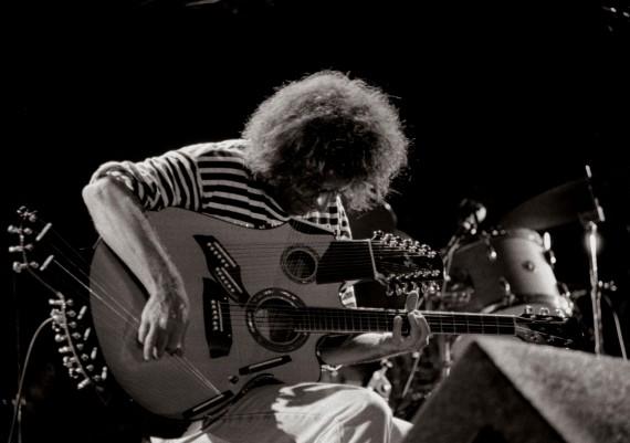 Pat Metheny plays his 42 string Pikasso guitar.